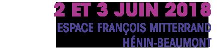 2 et 3 juin 2018 à Hénin